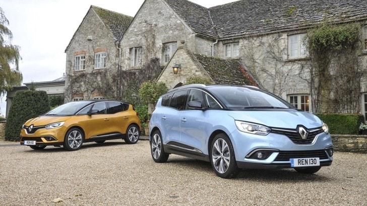Renault, Scenic e Grand Scenic diventano ibride