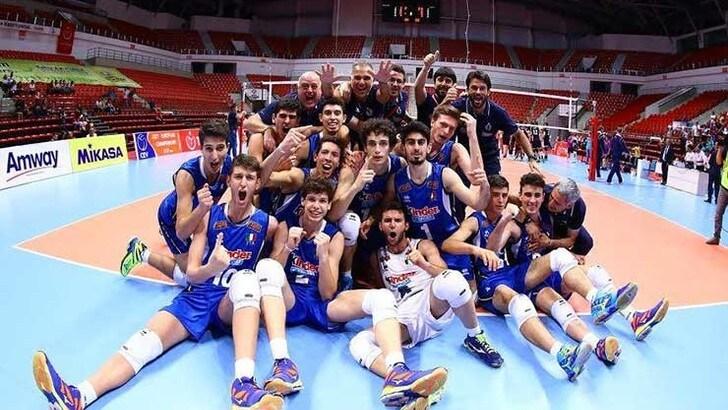 L'Italia Under 17 vince il titolo Europeo maschile
