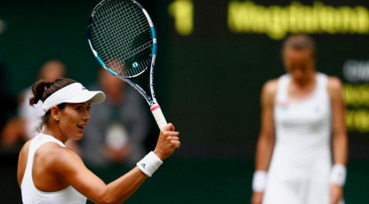 Wimbledon 2017: Muguruza prima finalista, Rybarikova fuori