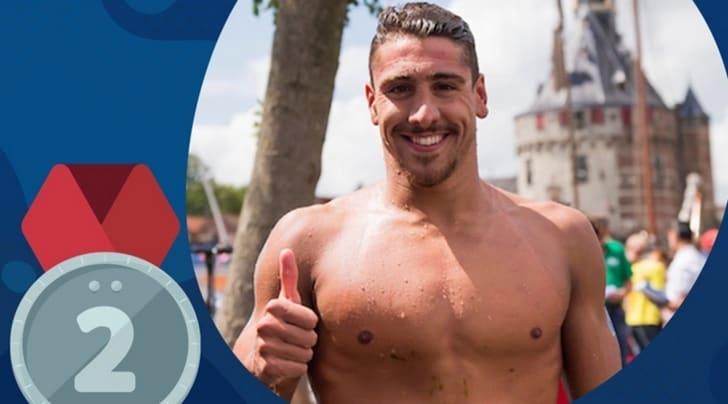 Mondiali nuoto, Sanzullo è d'argento nella 5km di fondo