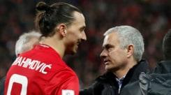 Calciomercato Manchester United, Mourinho: «Ibrahimovic? È possibile che torni da noi»