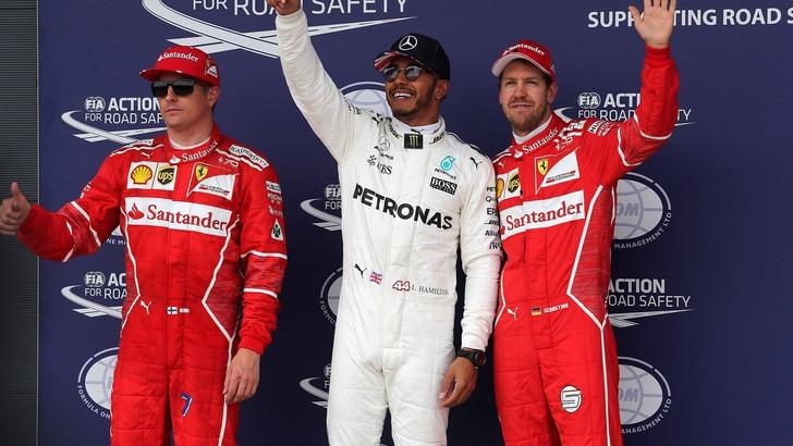 F1, Silverstone: Hamilton favorito, vola Raikkonen