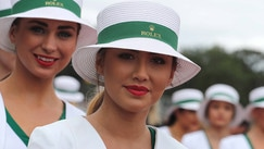 Gp Gran Bretagna, le grid girls inglesi