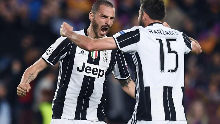 Barzagli saluta Bonucci: «Solo noi conosciamo la verità»