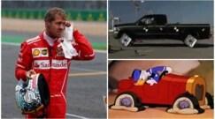 Doppia foratura e disastro Silverstone: Ferrari nel mirino dei social