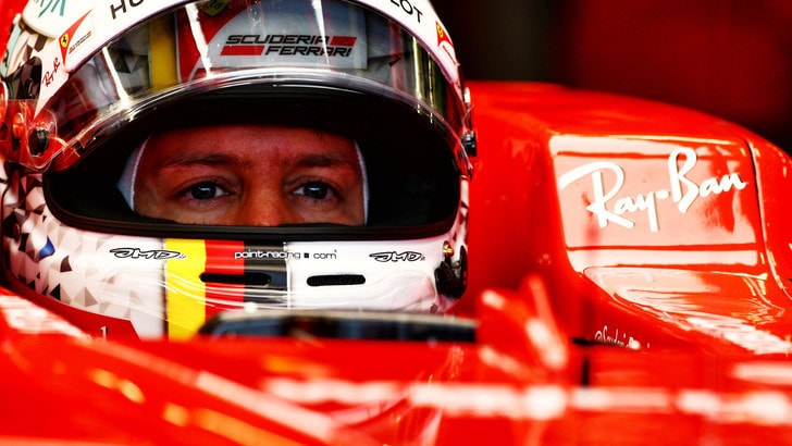 F1 Ferrari, Vettel: «Non so qual è stato il problema»