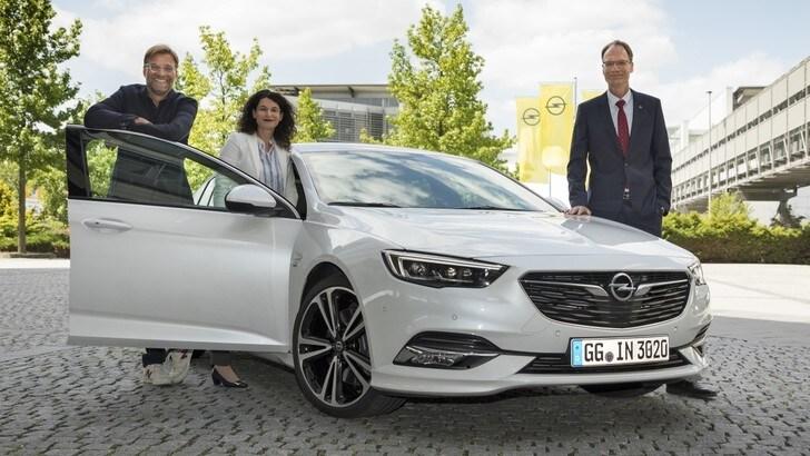 Jurgen Klopp ha scelto la Opel Insignia