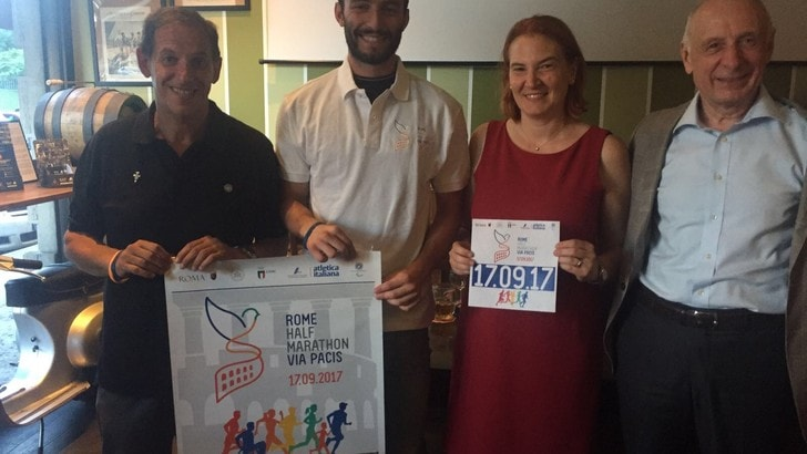 Fidal e Vaticano insieme per la Rome Half Marathon Via Pacis