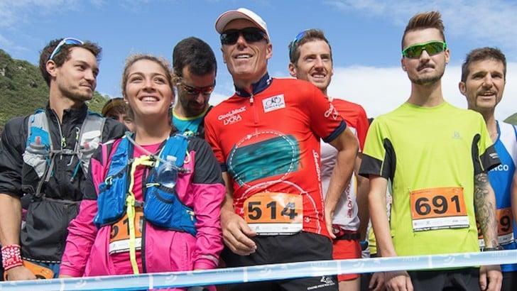 L'ex sciatore Pirmin Zurbriggen ha partecipato alla Bettelmatt Ultra Trail