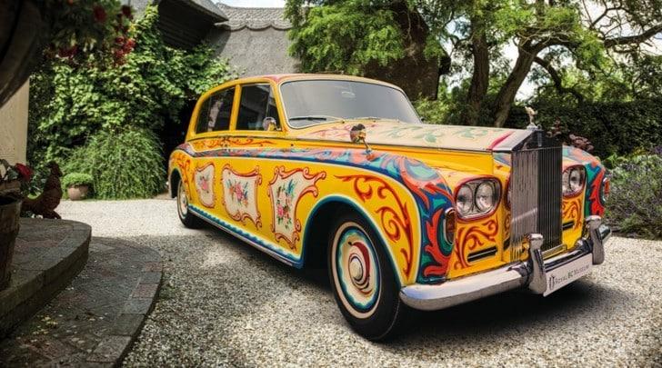 La Rolls Phantom di John Lennon torna a Londra