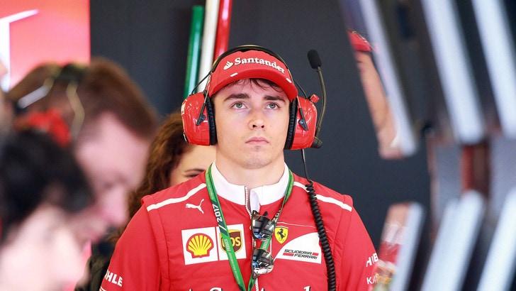 F1, in Ungheria Leclerc proverà la Ferrari