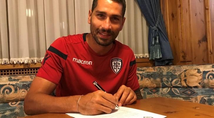Cagliari, Marco Borriello ha rinnovato fino al 2019