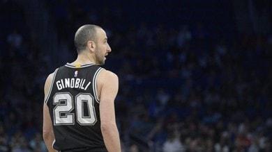 NBA, Manu Ginobili rinnova con gli Spurs