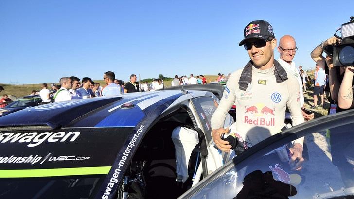 F1, Ogier gira a bordo di una Red Bull
