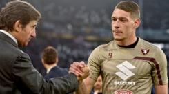 Calciomercato Torino, Belotti-Cairo: oggi l'incontro verità