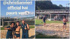 Dybala, Higuain e Cuadrado campioni di footvolley. Vieri accetta la sfida