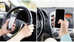 Patente subito sospesa per chi telefona al volante