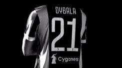 Juventus, ecco il terzo sponsor: logo Cygames sotto al numero di maglia