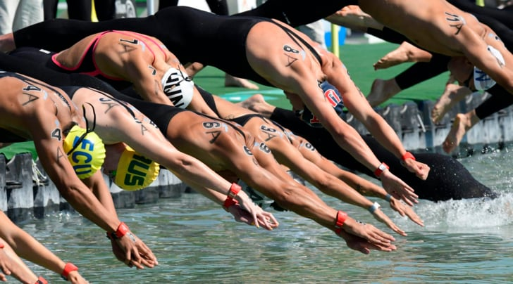 Mondiali nuoto, Italia bronzo nella 5 km a squadre mista