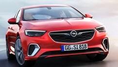 Opel Insignia GSi 2017: foto