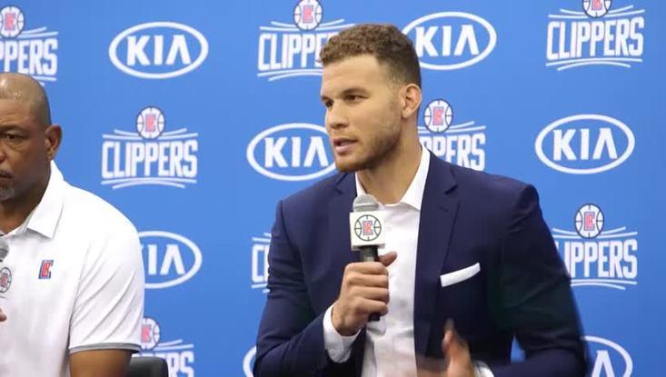 """Griffin: """"A vita ai Clippers!"""""""