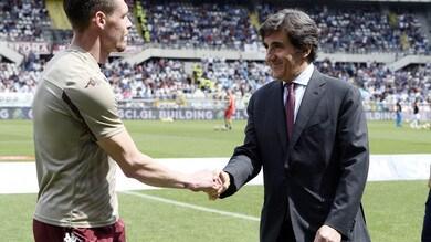 Torino, Cairo stringe la mano a Belotti: «Non lo vendo»