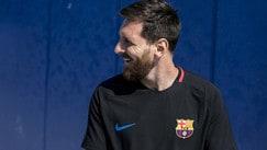 Il Barcellona si prepara per la sfida con la Juve