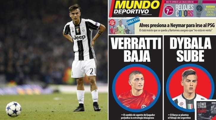 La bomba dalla Spagna: Dybala ha firmato una clausola pro-Barcellona