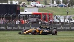 F1, test in Ungheria: Kubica in pista con la Renault
