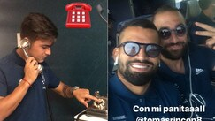 La Juventus sulle story di Instagram