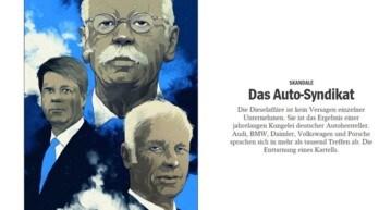L'accusa di Der Spiegel: le Case auto tedesche sono un cartello