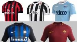 Le avete viste tutte? Ecco le maglie della Serie A 2017/18