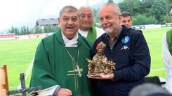 Il Cardinal Sepe e la benedizione al Napoli