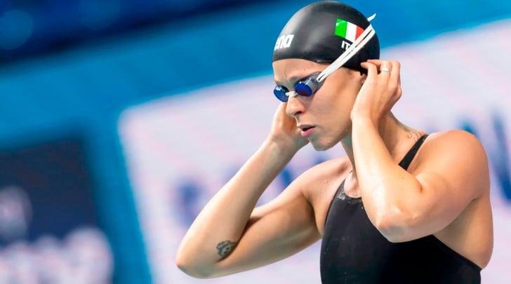 Federica Pellegrini ai mondiali di nuoto di Budapest