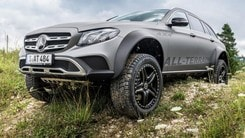 Mercedes E All-Terrain 4x4², la station wagon estrema