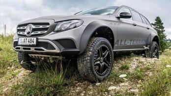 Mercedes E All-Terrain 4x4², la station wagon estrema