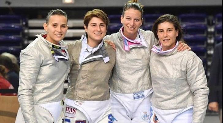 Mondiali scherma: oro Italia nella sciabola donne