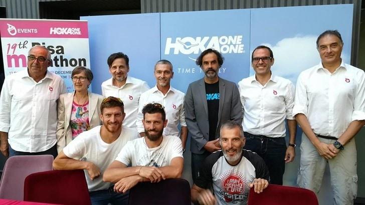 Hoka One One e PisaMarathon, siglato un accordo biennale