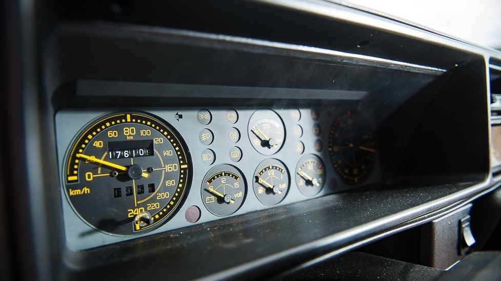 Il motore di questa Delta ha poi avuto qualche problema