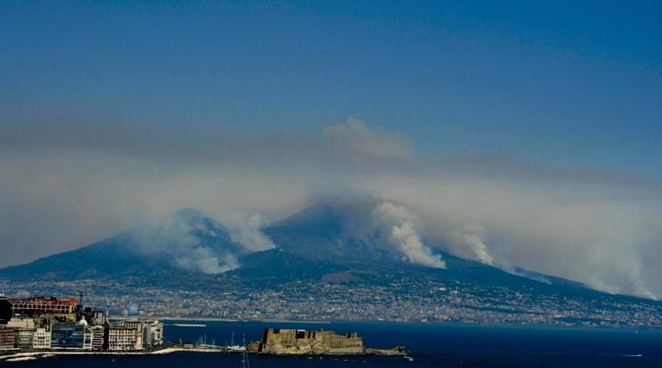 Tifosi del Torino comprano alberi da ripiantare sul Vesuvio