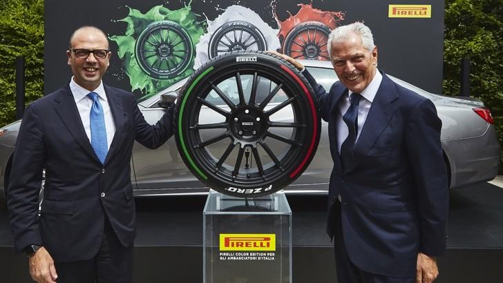 Pirelli esporta il Tricolore nel mondo