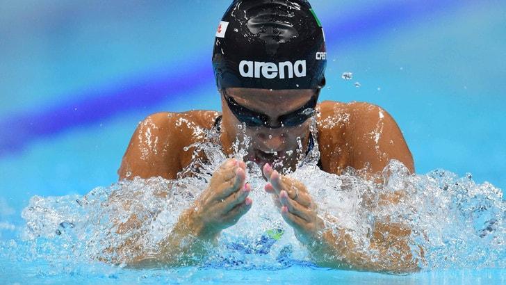 Nuoto, Mondiali; 50 rana, record italiano della Castiglioni