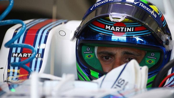 Malore dopo le libere, paura per Felipe Massa