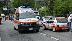 Rally incidente in Vallecamonica: muore commissario di gara