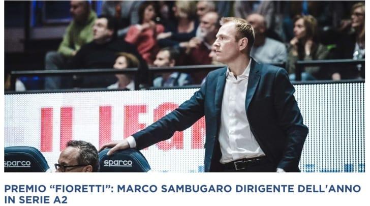 """Assegnato il premio """"Gabriele Fioretti"""" 2016-2017: Sambugaro e Muzio dirigenti dell'anno"""