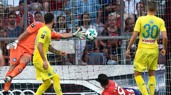 Audi Cup, Atletico Madrid-Napoli 2-1: non basta Callejon