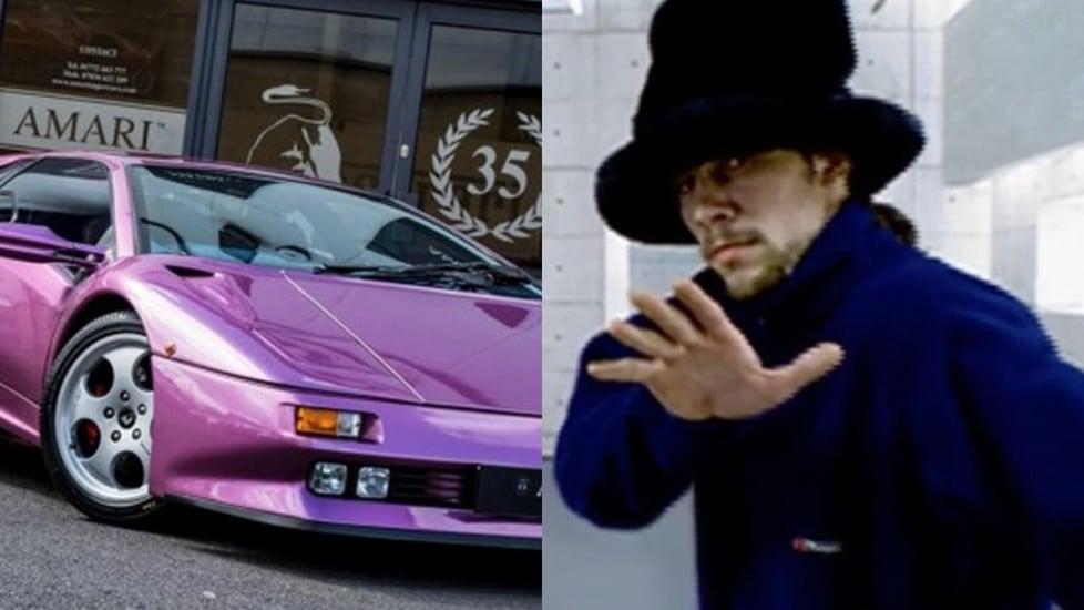 La Lamborghini Cosmic Girl Di Jamiroquai In Vendita Tuttosport