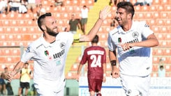 Coppa Italia: Spezia, che tris alla Reggiana. Anche l'Ascoli avanti