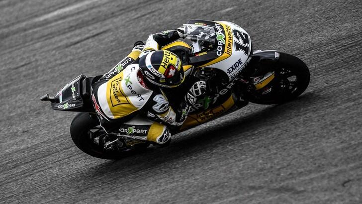 Moto2, Brno: vince Luthi, Morbidelli ottavo