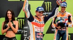 Marquez, trionfo a Brno. Rossi: che peccato